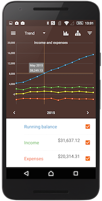Alzex Finance for Android 2.7 is released